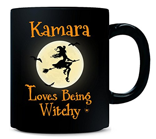 Kamara Loves Being Witchy Halloween Gift - Mug