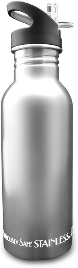 New Wave Enviro Tinted Stainless Steel Water Bottle 0.6-Liter