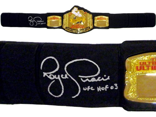 Royce Gracie Signed UUFC Classic Replica HWT Championship for sale  Delivered anywhere in USA