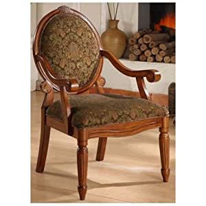 Arm Chairs Create An Old World Style With This Beautifully Craf
