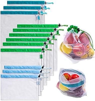 Bolsas de malla reutilizables para productos biodegradables ...