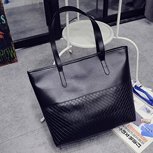 Messenger Handbag Black Large Women Shoulder Tote Fcostume Satchel Bag Purse YwwqZfp
