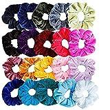 SUNyongsh Women or Girls Scrunchie Scrunchy Hair Ties Scrunchie Scrunchies Accessories Velvet Headband