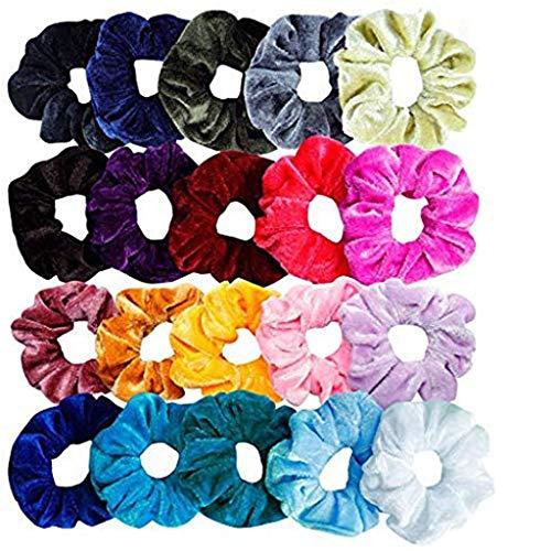 - SUNyongsh Women or Girls Scrunchie Scrunchy Hair Ties Scrunchie Scrunchies Accessories Velvet Headband