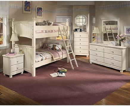 Amazon.com: Cottage Retreat Bunk Bedroom Set by Ashley ...