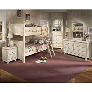 Amazon.com: Cottage Retreat Bunk Bedroom Set by Ashley Furniture ...