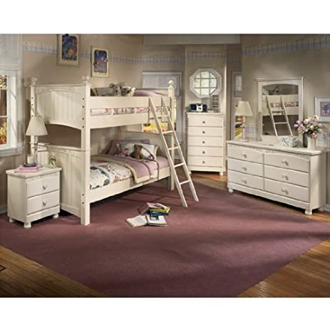 Amazon.com: Cottage Retreat Bunk Bedroom Set by Ashley Furniture ...