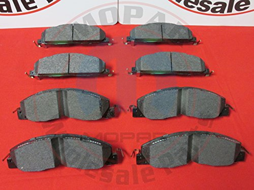 DODGE RAM 2500 3500 Front And Rear Disc Brake Pad Kit NEW OEM -