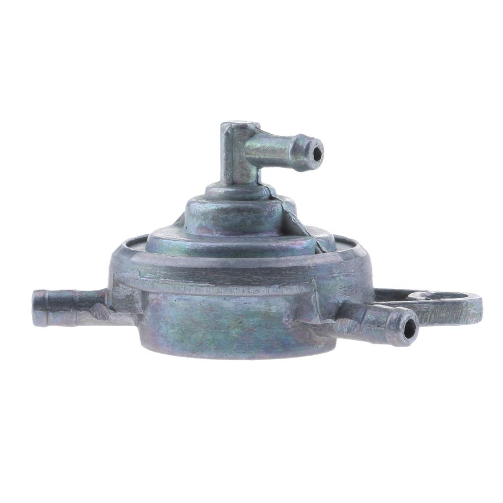 Homyl 3-Port Vacuum Fuel Pump Valve Switch Petcock for GY6 50-150cc Moped Scooter
