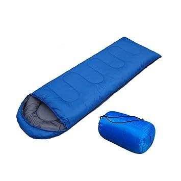Beautyrain Saco de Dormir de 3 Estaciones para Acampar con Mochila, Saco de Dormir de Saco Compacto Ultraligero Saco con Bolsa de compresión para Adultos ...