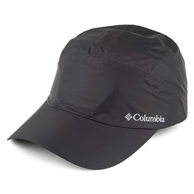 ef27aa59a1254c Columbia Hats Watertight Waterproof Baseball Cap - Black Adjustable:  Amazon.co.uk: Clothing
