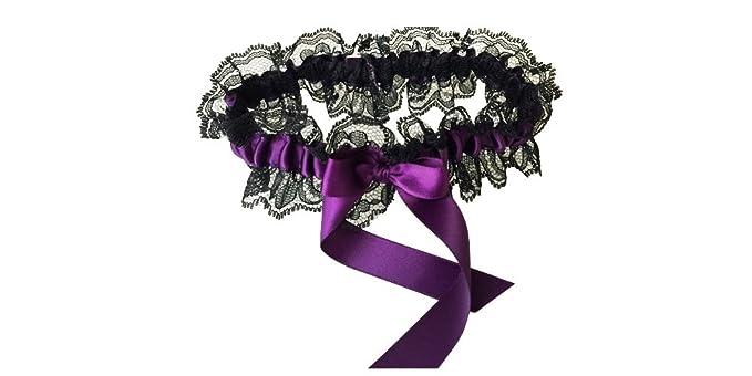 d824e64659b Amazon.com  Black Lace Wedding Garter