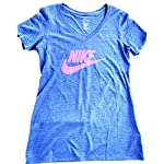 Nike Womens Crew Neck Short Sleeve Graphic T-Shirt DC8772 495 Size 3