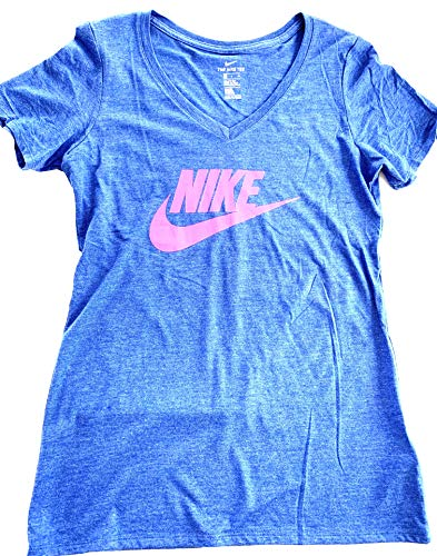 Nike Womens Crew Neck Short Sleeve Graphic T-Shirt DC8772 495 Size 1