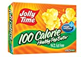 popcorn 100 calorie packs - Jolly Time 100 Calorie Healthy Pop Butter Microwave Popcorn Mini Bags, 4-Count Boxes (Pack of 12)