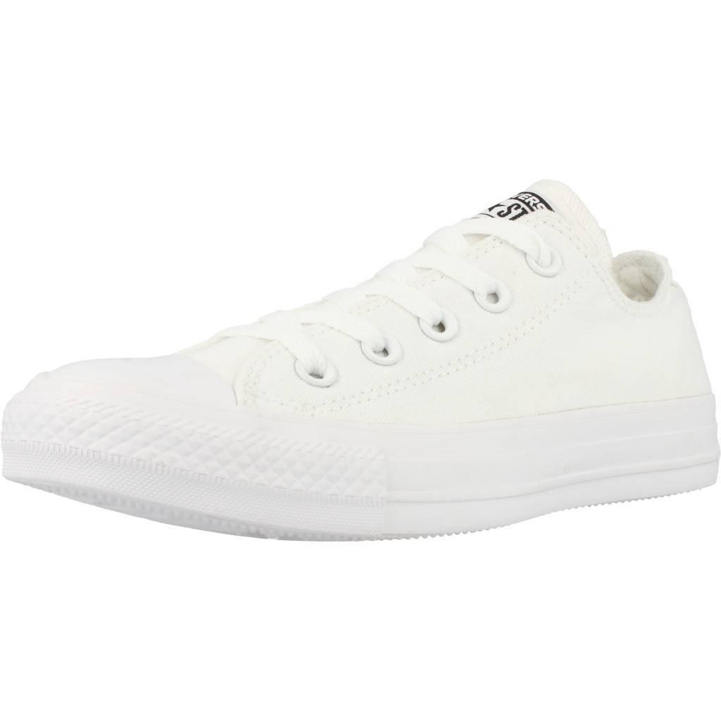 Converse Unisex-Erwachsene CTAS Seasonal-OX-White Monochrome Sneaker  39.5 EU|Wei? (33 BLANC MONO)