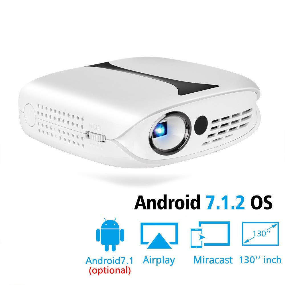 Proyector DLP para Full HD 1080P con WiFi Android 7.1 Teatro en ...