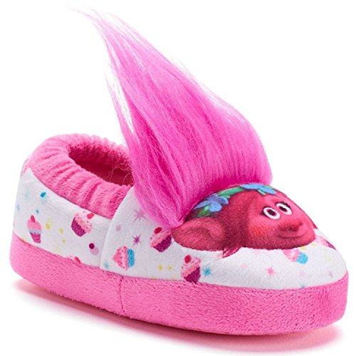 Dreamworks Trolls Slippers for Girls -7-8 M US Toddler