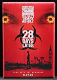 28 Days Later Movie Poster Refrigerator Magnet.