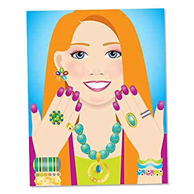 Melissa & Doug Jewelry & Nails Sticker Pad: Melissa & Doug: Toys & Games