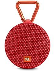 JBL Clip 2 Bluetooth Speaker, Red