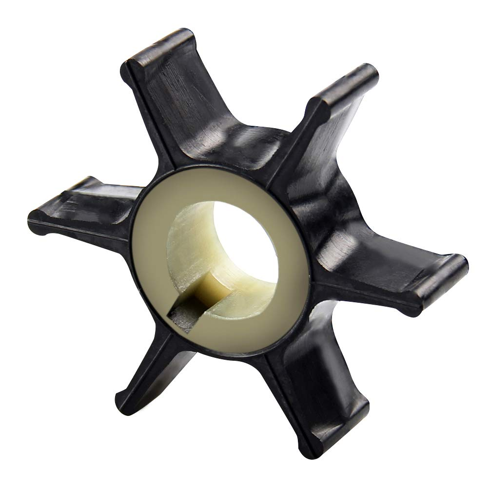 Big-Autoparts Water Pump Impeller for Chrysler Force Mercury 25HP 35HP 40HP 50HP 2-stroke Outboard Motors 47-F433065-2