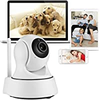 Mbangde WiFi Smart Camera Pan / Tilt Wireless IP Security Surveillance System 720p HD Night Vision for Baby / Elder / Pet / Nanny Monitor