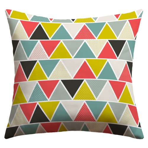 Deny Designs Heather Dutton Triangulum Outdoor Throw Pillow, 20 x - Front Heather