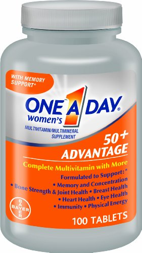 One-A-Day Women's 50+ Advantage Multivitamin 100 Tablets