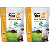 Primal Protein Powder® USDA Organic 4.0lbs (Certified Grass Fed Rumiano's Whey) (60 Servings) (Unflavored)
