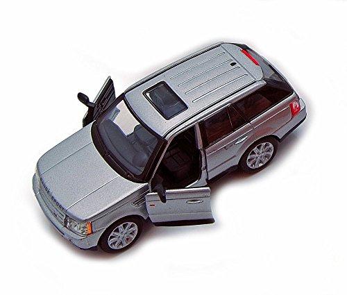 Sport SUV, Silver 5312D - 1/38 Scale Diecast Model Replica, but NO BOX ()