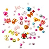 Nail Art Stickers WuyiMC 3D New Hot Different Designs Nail Art Rhinestones Glitters Acrylic Tips Decoration Manicure Wheel
