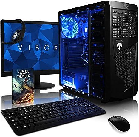 VIBOX Precision 6 - Ordenador para Gaming (21.5