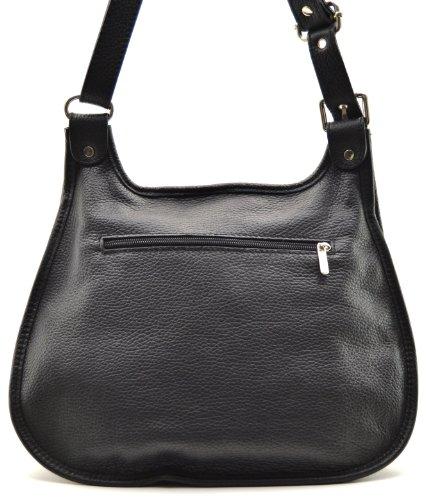collection Destock modèle à grainé Noir nouvelle 2018 Cuir cuir bandoulière main sac lively 6wvqBUa