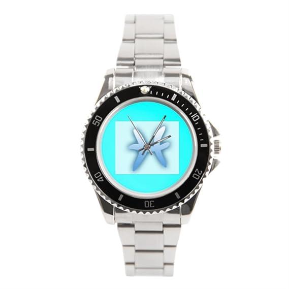 blue5 para hombre mejor muñeca relojes Zodiac inoxidable reloj