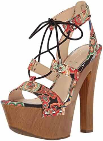 Jessica Simpson Women's Doreena Heeled Sandal