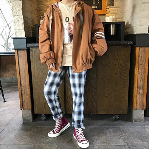 Con Lunghe Eleganti Incappucciato Sportivo Outwear Maniche Autunno Braun College Primaverile Chic Casual Moda Giubbino Donna Giacca Ragazze Coat Cute Relaxed Cappuccio 5080Bq