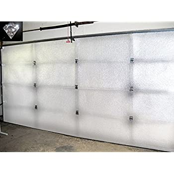Garage door insulation kit insulate up to a 18x8 ft for Highest r value garage door