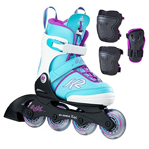K2 Skate Marlee Pro Pack, Light Blue, 1-5 by K2 Skate