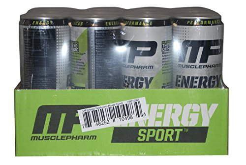 MusclePharm Energy Sport Zero 12 Cans Power Punch