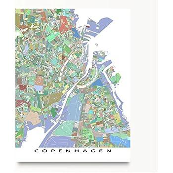 Amazoncom Copenhagen Poster Copenhagen Art Print Copenhagen Wall