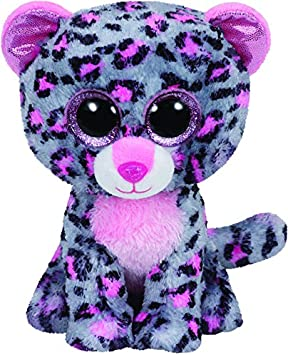 TY- Leopardo Peluche, juguete, Color gris, 23 cm (United Labels Ibérica 37038TY) , color/modelo surtido: Amazon.es: Juguetes y juegos
