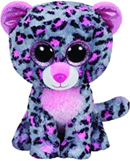 Ty Beanie Boos Tasha the Leopard Buddy Size Plush - 9