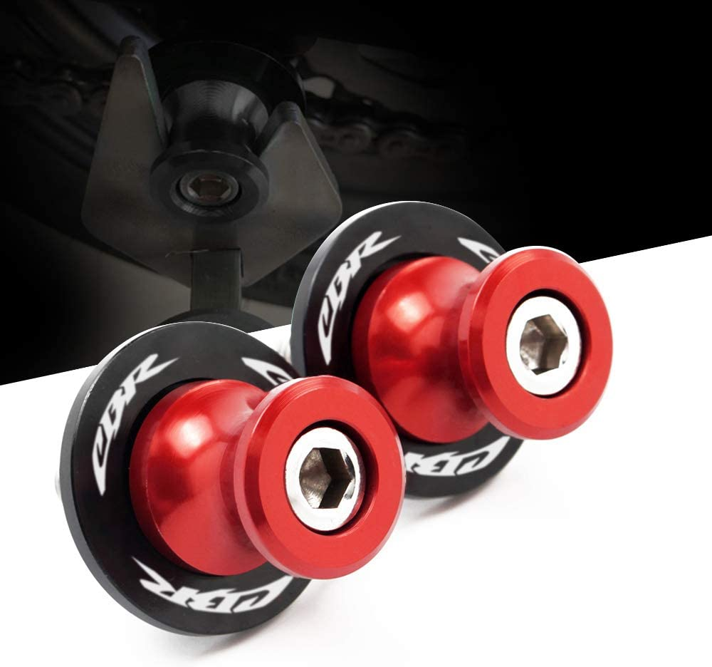 8mm Swingarm Stand Screws CNC Motorcycle Swing Arm Spools Sliders for Honda CBR150 CBR100f CBR1000rr CBR1100xx CBR125 CBR250 CBR400rr CBR400f CBR450sr CBR600rr CBR600f CBR900rr CBR954rr
