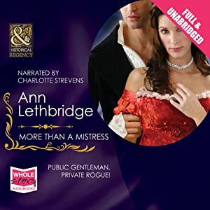More than a Mistress Audiobook