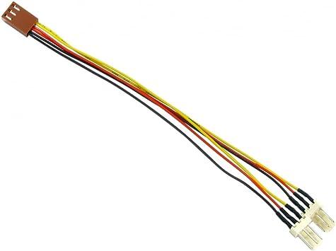 Rhinocables 3 Pin Lüfter Verlängerungskabel 1x 3pin Fan Elektronik
