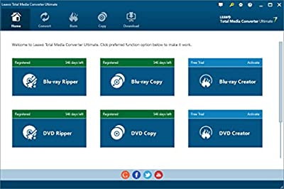 Leawo Total Media Converter Ultimate for Win Download- All Media Converter Software Deals with and Converts Media files of Video/Audio/DVD/Blu-ray...