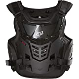Fox Racing Raptor Proframe LC Youth Roost Deflector Off-Road/Dirt Bike Motorcycle Body Armor - Black / One Size