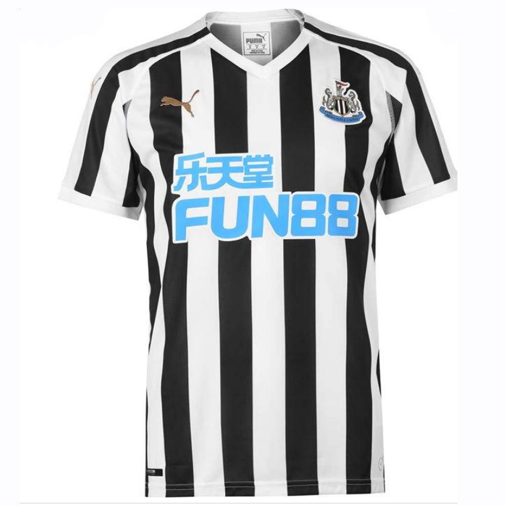 Puma Herren NUFC Home Replica with Sponsor Logo T-Shirt