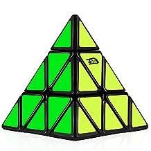 D-FantiX Cyclone Boys Pyraminx Cube Speed Cube Puzzle Black